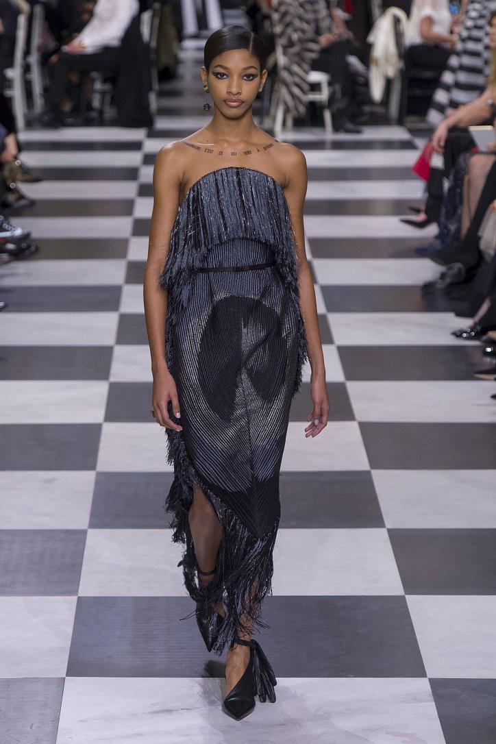 Christian Dior Haute Couture весна-лето 2018 фото №20