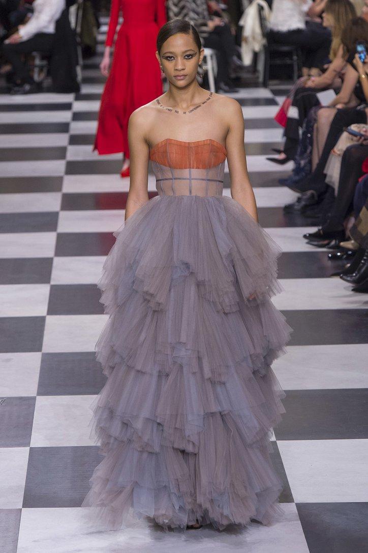 Christian Dior Haute Couture весна-лето 2018 фото №43