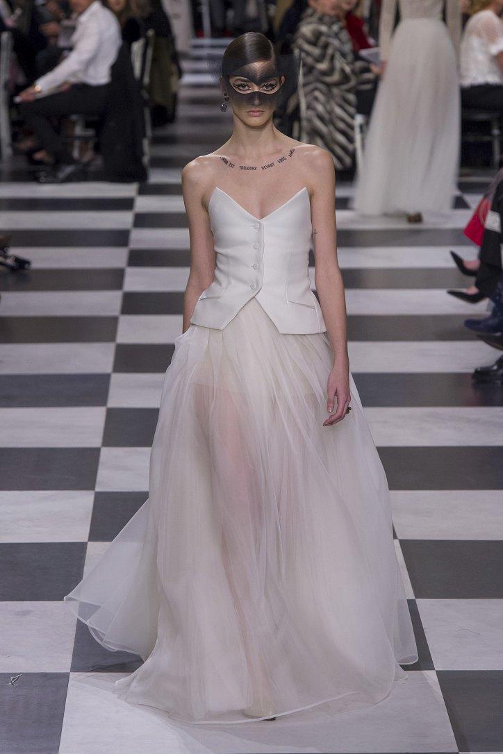 Christian Dior Haute Couture весна-лето 2018 фото №62