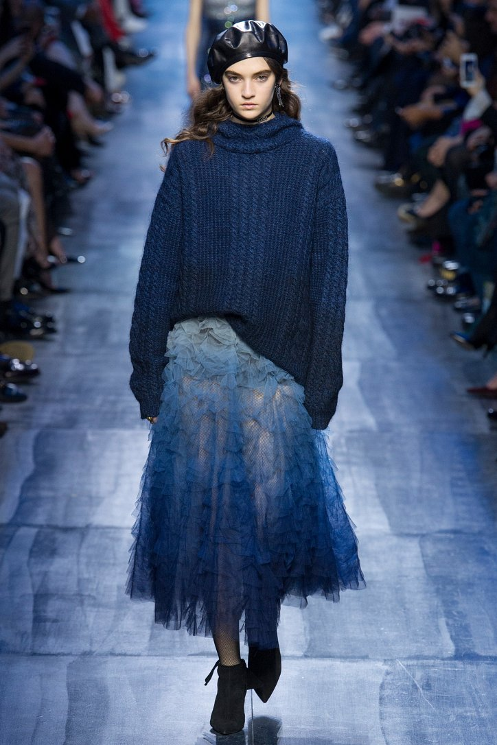 Christian Dior осень-зима 2017-2018 фото №29
