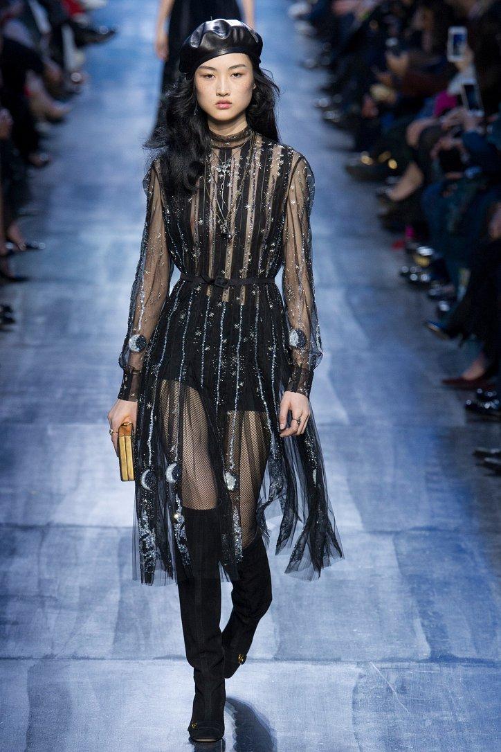 Christian Dior осень-зима 2017-2018 фото №33
