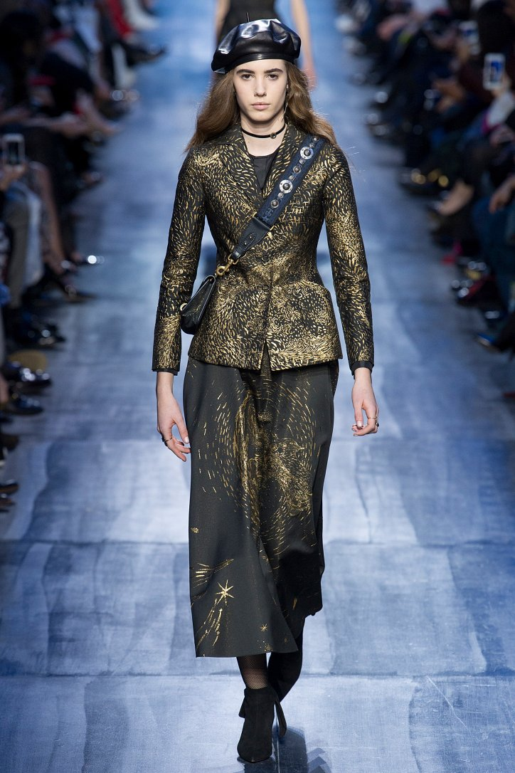 Christian Dior осень-зима 2017-2018 фото №52