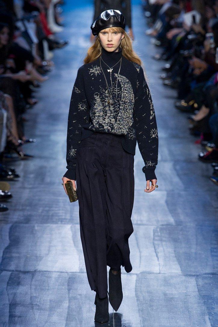 Christian Dior осень-зима 2017-2018 фото №54