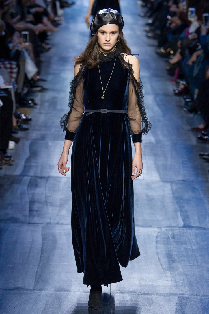 Christian Dior осень-зима 2017-2018 фото №58