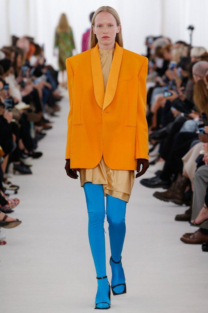 Цветные колготки - модный хит будущей весны фото №8
