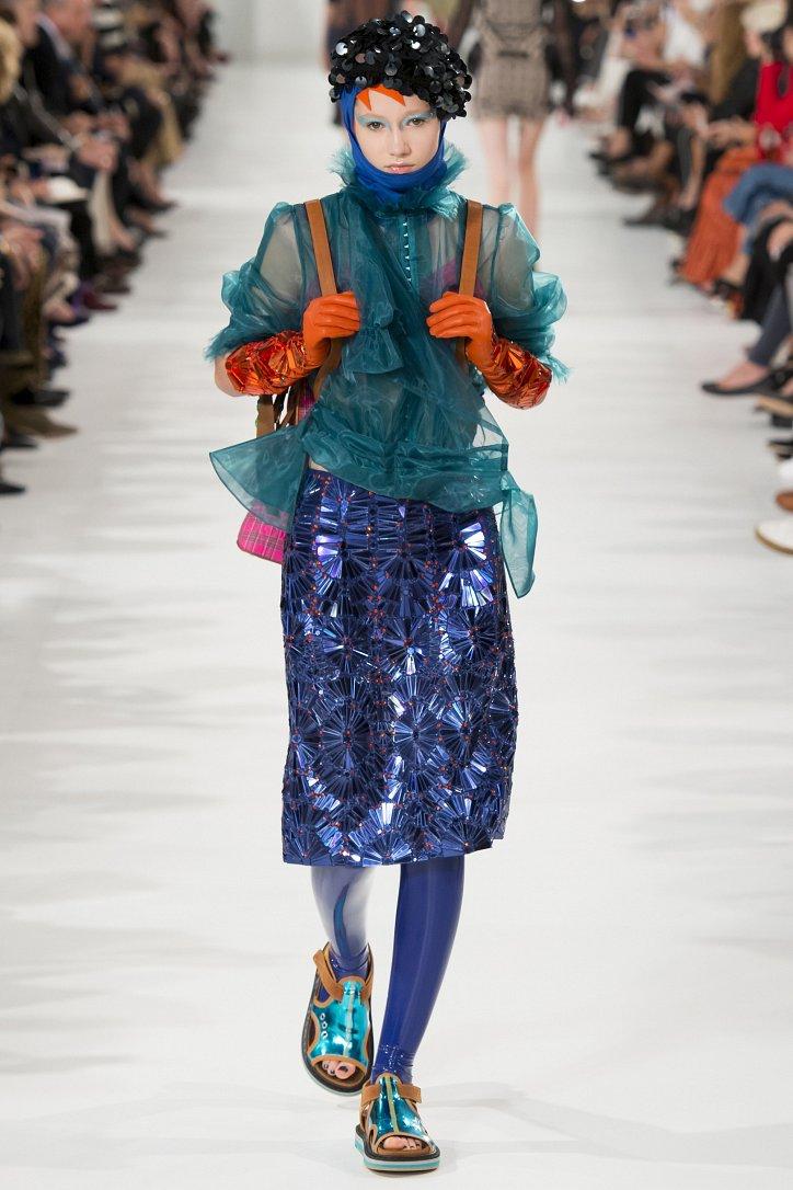 Цветные колготки - модный хит будущей весны фото №9