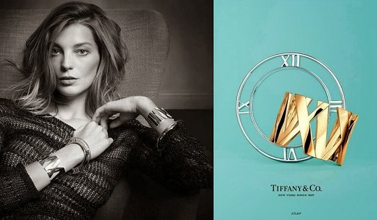 Дарья Вербова в новой рекламной кампании Tiffany  фото №2