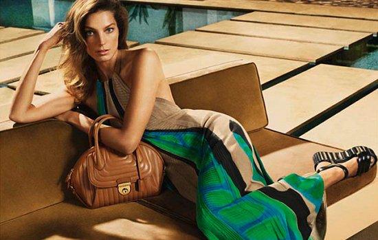 Дарья Вербова в рекламной кампании Salvatore Ferragamo весна-лето 2015 фото №3