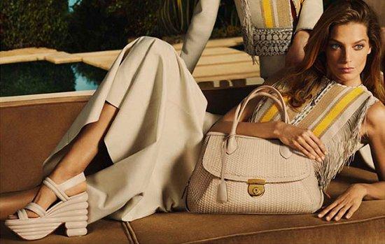 Дарья Вербова в рекламной кампании Salvatore Ferragamo весна-лето 2015 фото №4