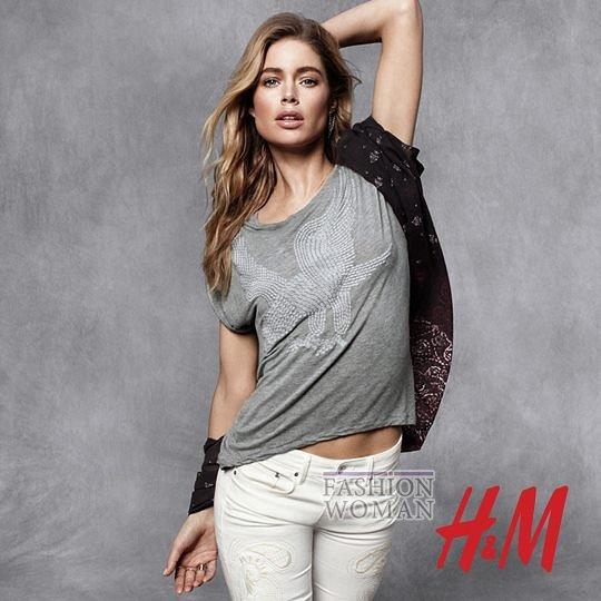 Даутцен Крез в осеннем лукбуке H&M