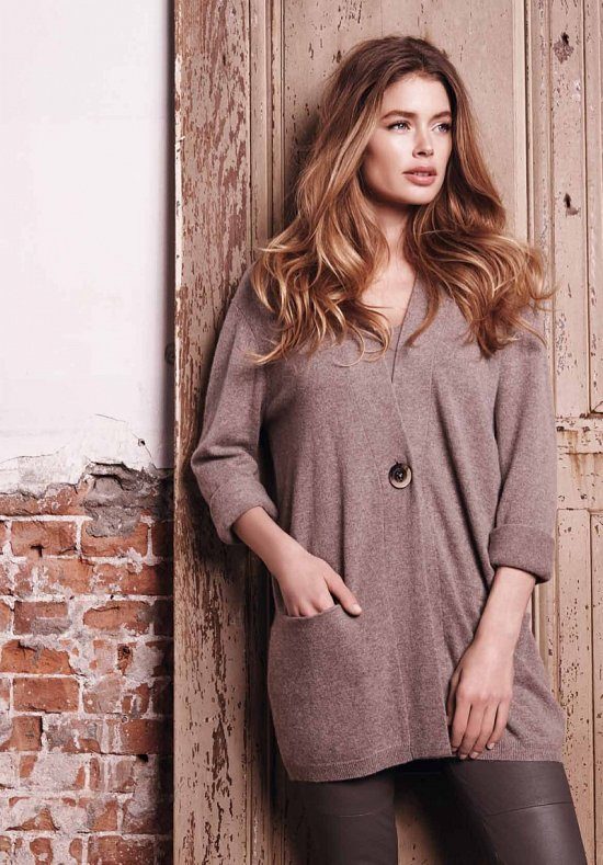 Даутцен Крус в рекламе Repeat Cashmere осень-зима 2015-2016