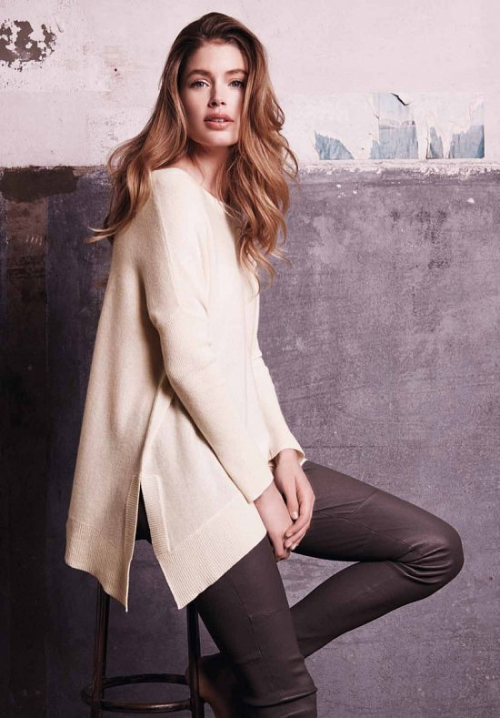 Даутцен Крус в рекламе Repeat Cashmere осень-зима 2015-2016 фото №3