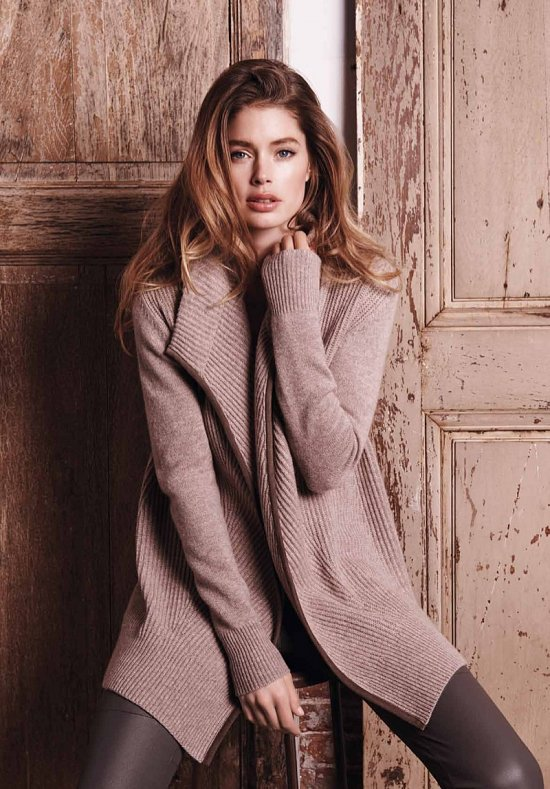 Даутцен Крус в рекламе Repeat Cashmere осень-зима 2015-2016 фото №7