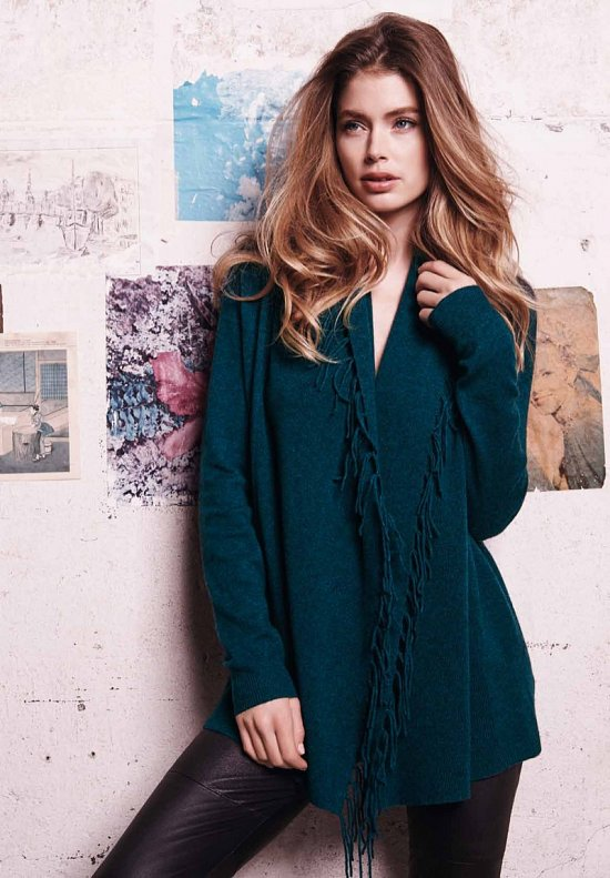 Даутцен Крус в рекламе Repeat Cashmere осень-зима 2015-2016 фото №8