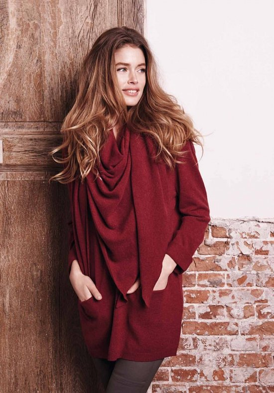 Даутцен Крус в рекламе Repeat Cashmere осень-зима 2015-2016 фото №9
