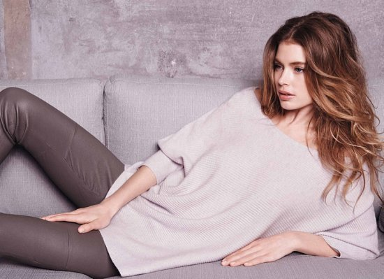 Даутцен Крус в рекламе Repeat Cashmere осень-зима 2015-2016 фото №10