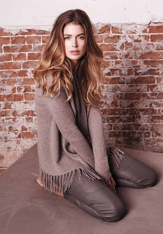 Даутцен Крус в рекламе Repeat Cashmere осень-зима 2015-2016 фото №12