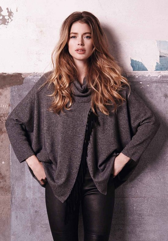 Даутцен Крус в рекламе Repeat Cashmere осень-зима 2015-2016 фото №13