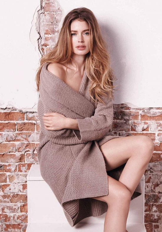 Даутцен Крус в рекламе Repeat Cashmere осень-зима 2015-2016 фото №16