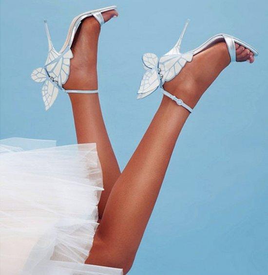 Дебютная коллекция свадебной обуви Sophia Webster фото №18