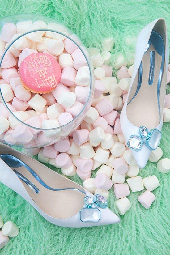 Дебютная коллекция свадебной обуви Sophia Webster фото №17
