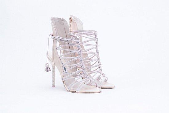 Дебютная коллекция свадебной обуви Sophia Webster фото №8