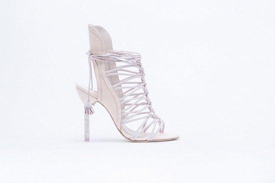 Дебютная коллекция свадебной обуви Sophia Webster фото №7