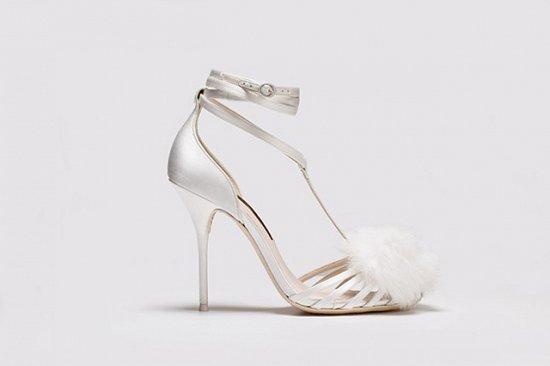 Дебютная коллекция свадебной обуви Sophia Webster фото №13