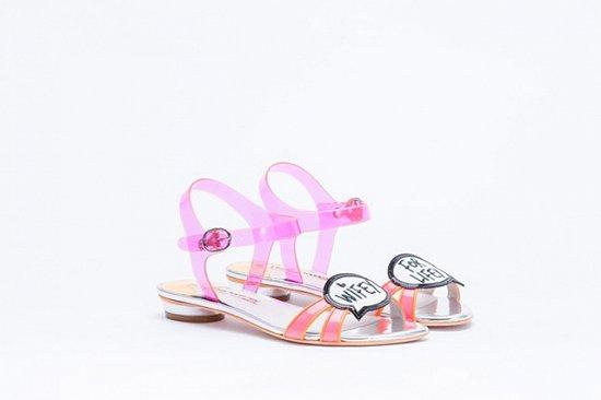 Дебютная коллекция свадебной обуви Sophia Webster фото №16