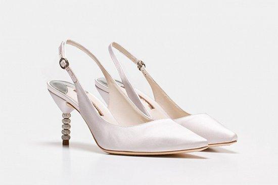 Дебютная коллекция свадебной обуви Sophia Webster фото №14