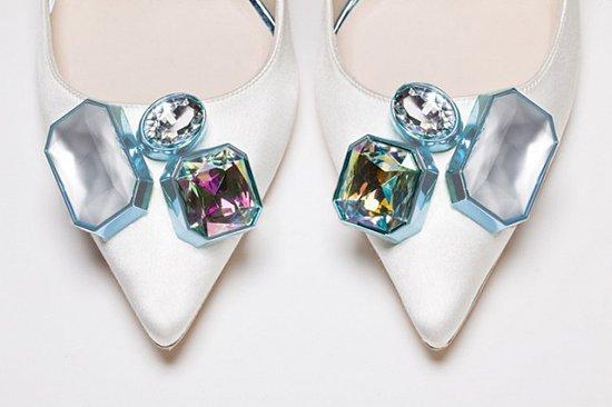 Дебютная коллекция свадебной обуви Sophia Webster фото №4