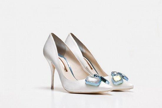 Дебютная коллекция свадебной обуви Sophia Webster фото №6