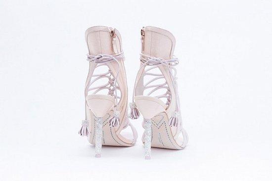 Дебютная коллекция свадебной обуви Sophia Webster фото №9