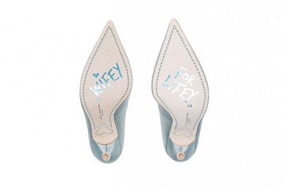 Дебютная коллекция свадебной обуви Sophia Webster фото №3