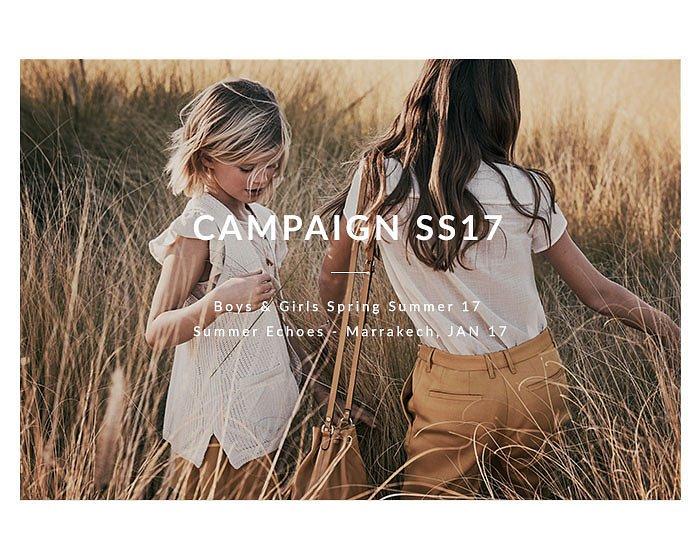 Детская коллекция одежды Massimo Dutti весна-лето 2017 фото №14