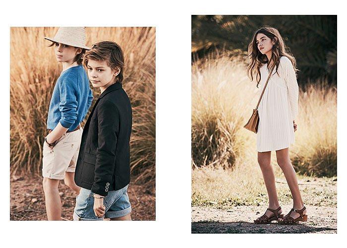 Детская коллекция одежды Massimo Dutti весна-лето 2017 фото №4