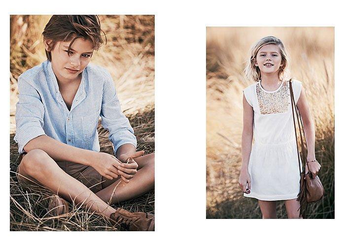 Детская коллекция одежды Massimo Dutti весна-лето 2017 фото №6