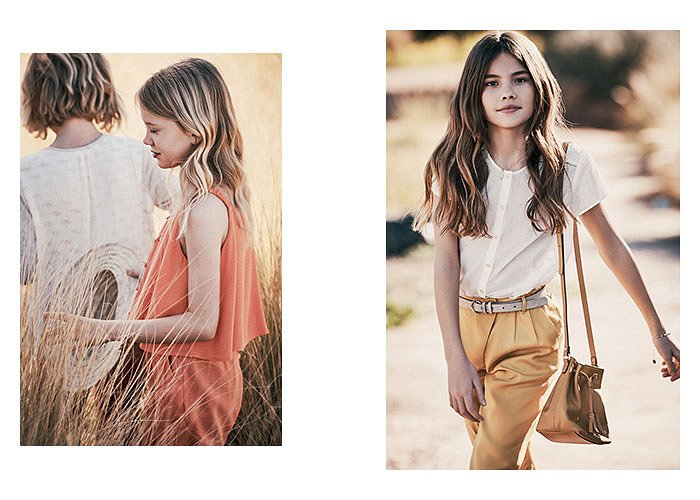 Детская коллекция одежды Massimo Dutti весна-лето 2017 фото №12