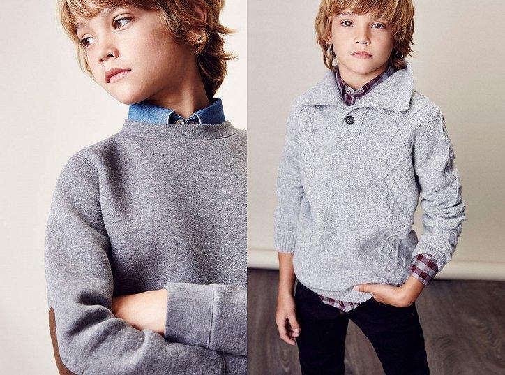 Детский лукбук Massimo Dutti осень 2016