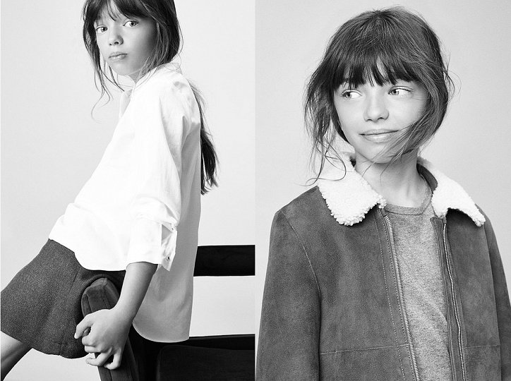 Детский лукбук Massimo Dutti осень 2016 фото №6