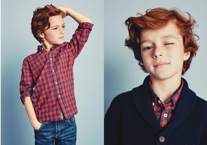 Детский лукбук Massimo Dutti осень 2016 фото №9
