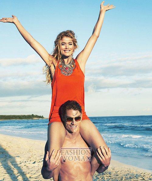 Doutzen Kroes в летней рекламной кампании H&M