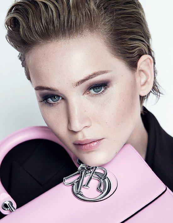 Дженнифер Лоуренс в рекламной кампании Dior осень-зима 2014-2015 фото №4