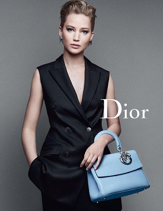 Дженнифер Лоуренс в рекламной кампании Dior осень-зима 2014-2015 фото №2
