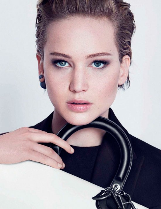 Дженнифер Лоуренс в рекламной кампании Dior осень-зима 2014-2015 фото №5