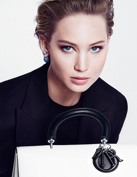 Дженнифер Лоуренс в рекламной кампании Dior осень-зима 2014-2015 фото №8