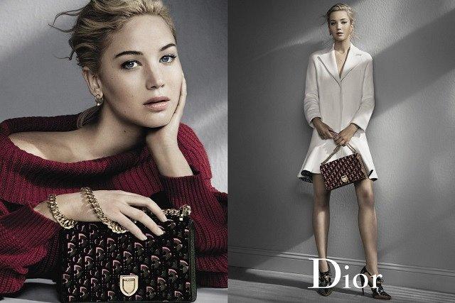 Дженнифер Лоуренс в рекламной кампании Dior осень-зима 2016-2017 фото №6