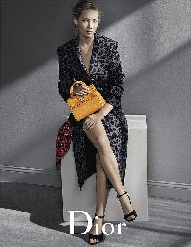Дженнифер Лоуренс в рекламной кампании Dior осень-зима 2016-2017 фото №3