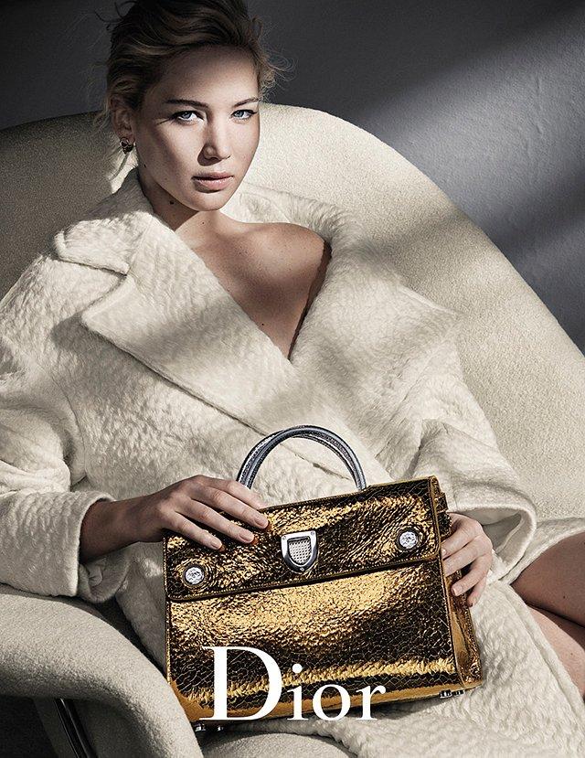 Дженнифер Лоуренс в рекламной кампании Dior осень-зима 2016-2017 фото №4