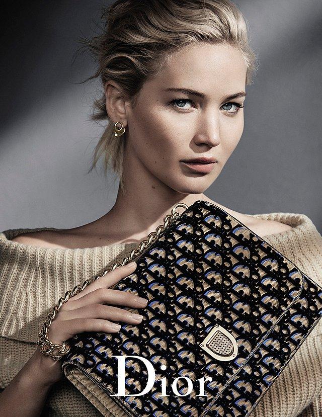 Дженнифер Лоуренс в рекламной кампании Dior осень-зима 2016-2017 фото №1